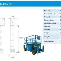 Genie GS-3369 RT spec